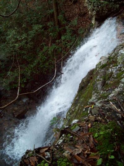 Lilybeth Falls (Upper Devil's Fork Falls)
