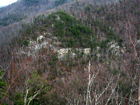monkeyhead rocks (Sill Branch Overlook)