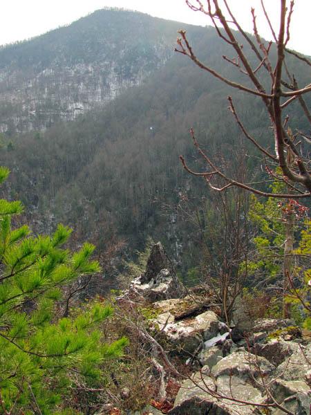 Strange 'Shrine Rock' formation