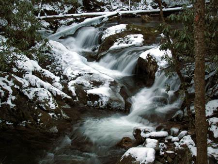 Cascades on Rocky Fork Creek