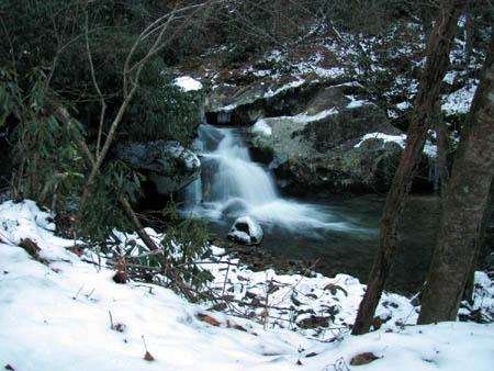 Lower Rocky Fork Falls