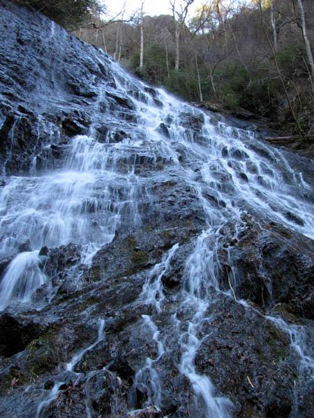 Middle section of Buckeye Falls