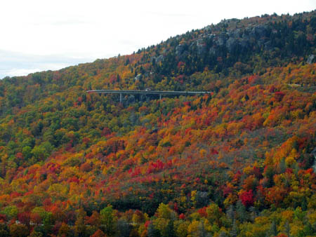 Viaduct along the Blue Ridge Parkway
