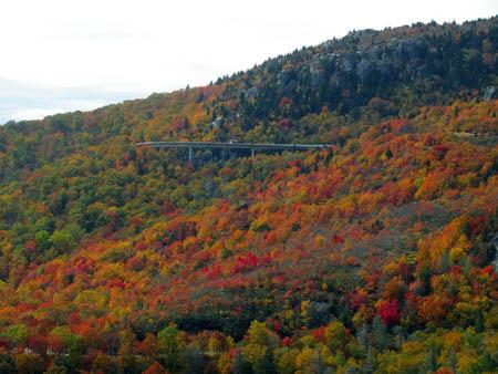 Viaduct along the Blue Ridge Parkway