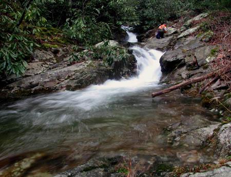 Third set of cascades on Devils Creek