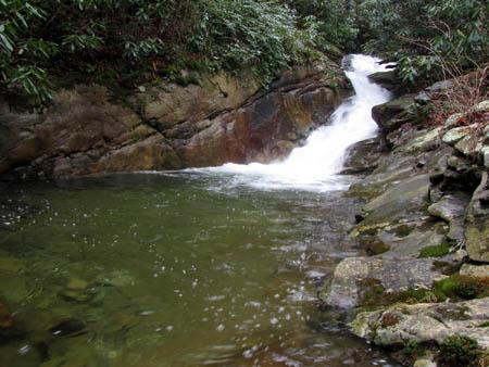 Fourth set of cascades on Devils Creek
